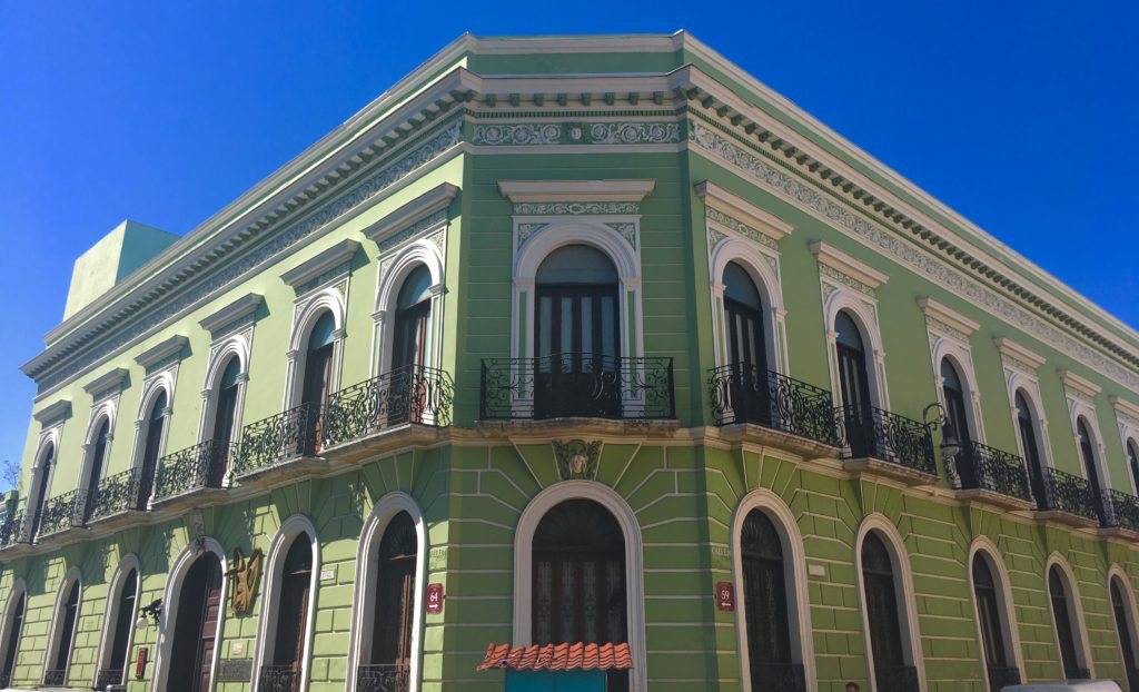 Colonial cities Yucatan