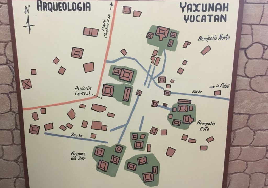 Yaxunah Mayan ruins Yucatan