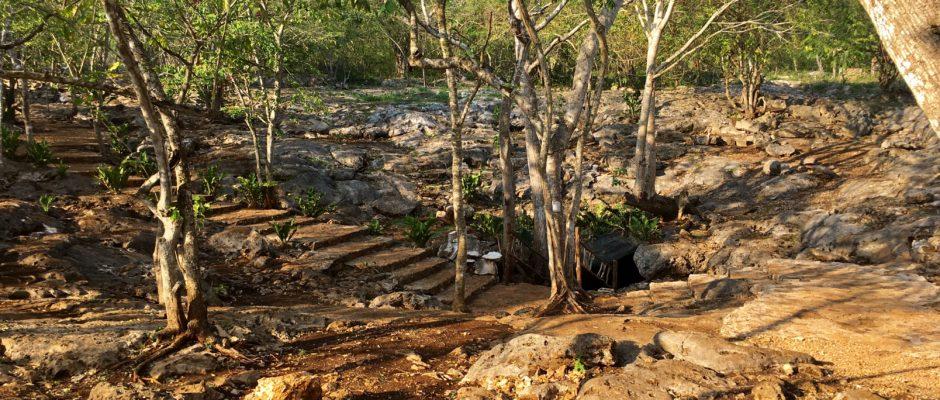 Cenote Cho'o'oj ha in Xcan Yucatan