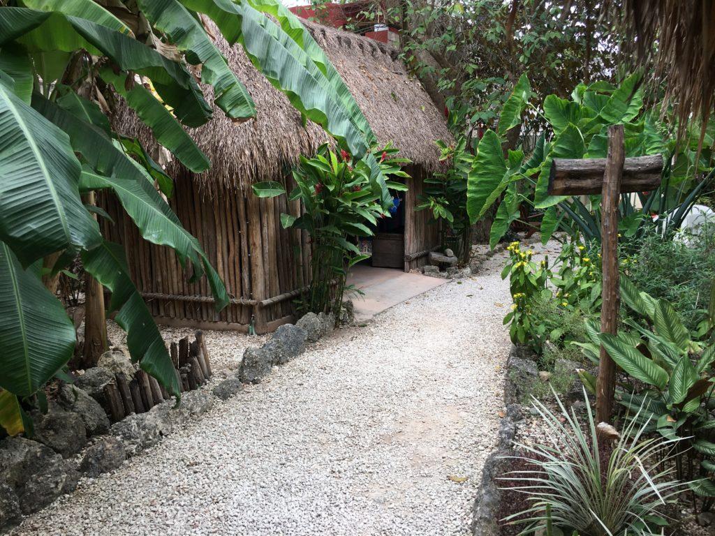 Mayan house Mexico