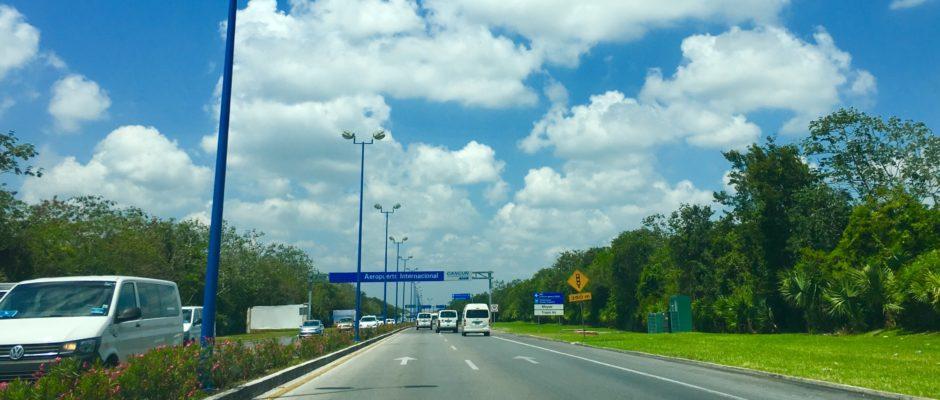 Transportation from Cancun airport to Riviera Maya Hotel