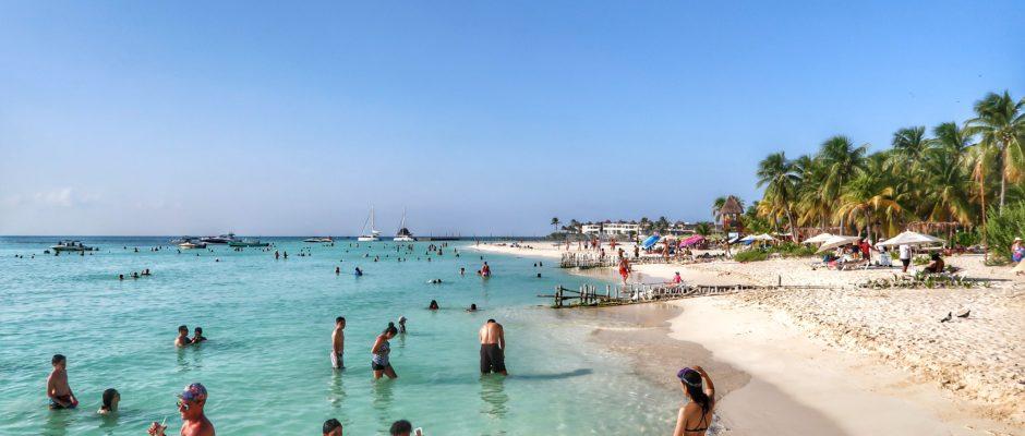 Beach club Isla Mujeres