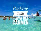 Packing Playa Del Carmen