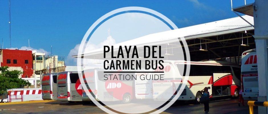 Playa Del Carmne bus station