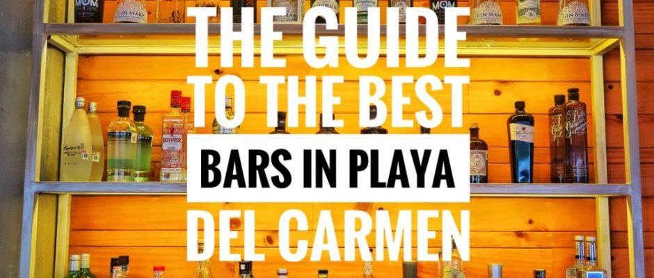 Best bars in Playa Del Carmen