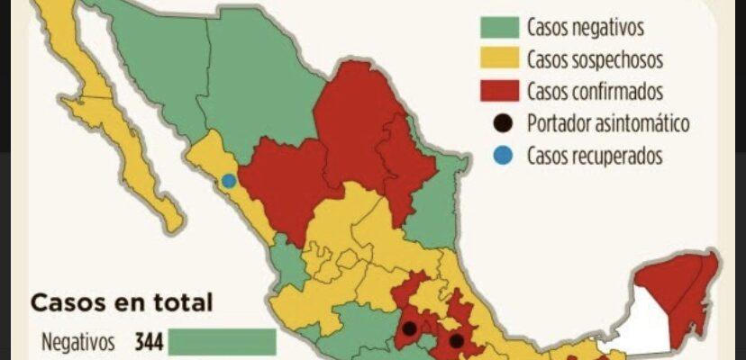 Corona virus Mexico