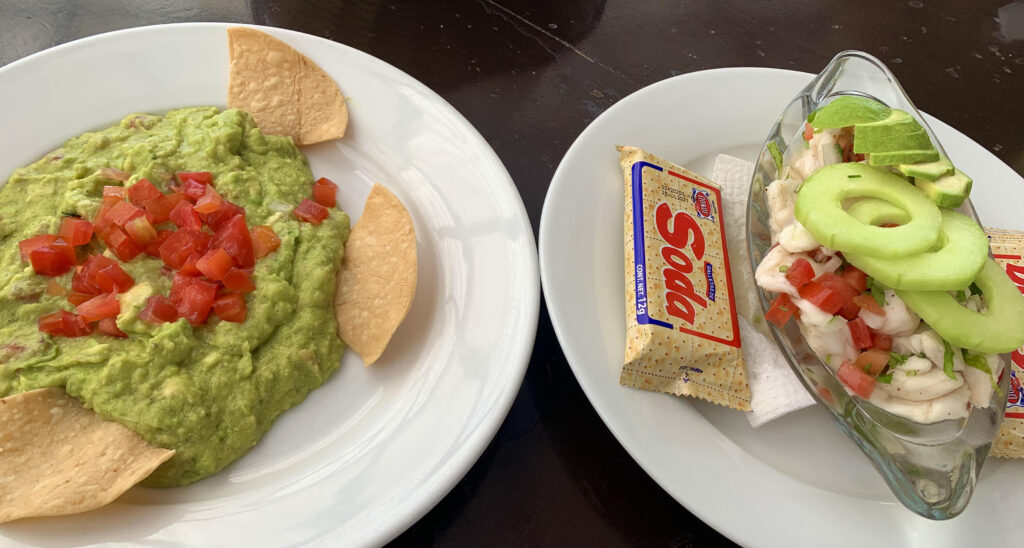 Food at Lolha Restaurant