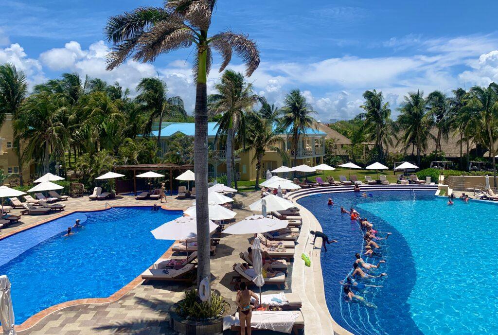 Royal Hideaway Playacar pools