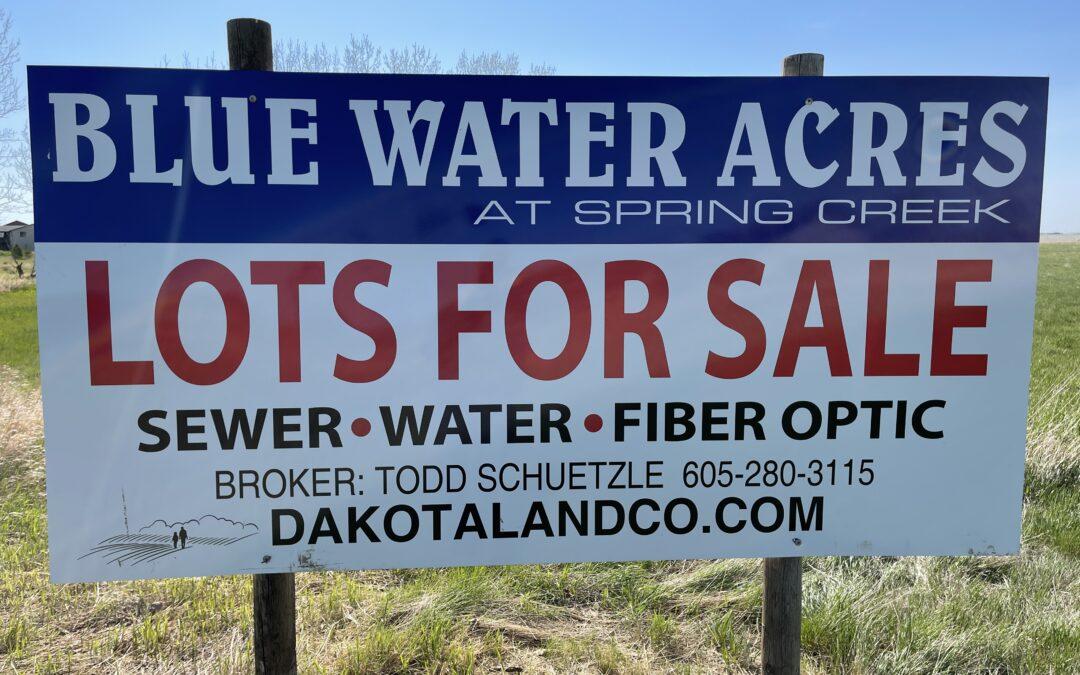 Blue Water Acres Development Lots