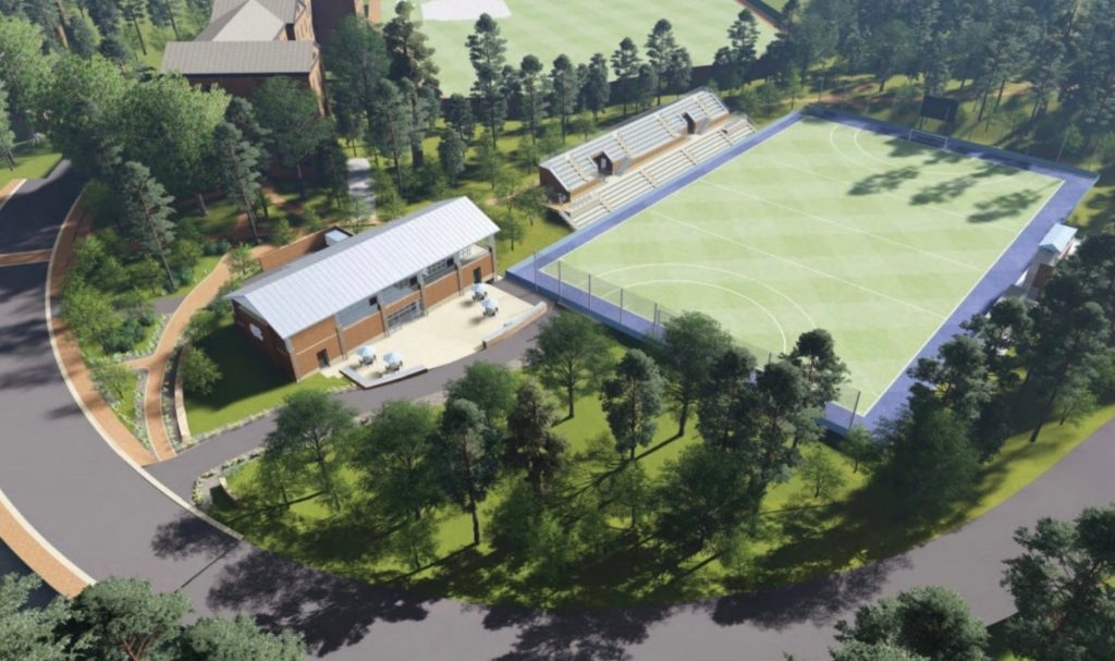The University of North Carolina Field Hockey Training Facility and Stadium