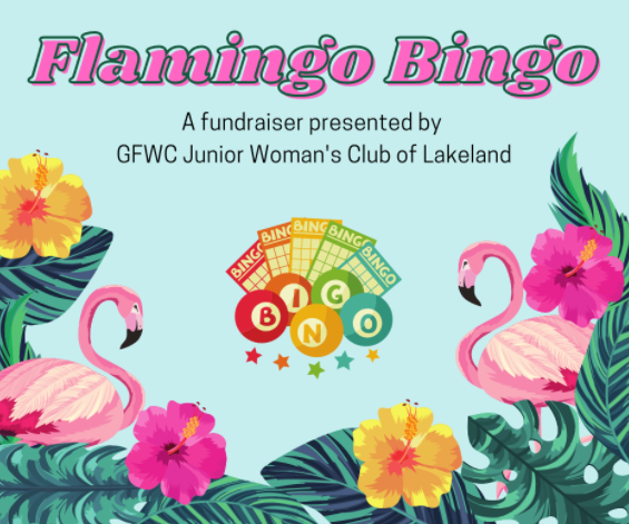 Flamingo Bingo by GFWC Junior Woman's Club of Lakeland