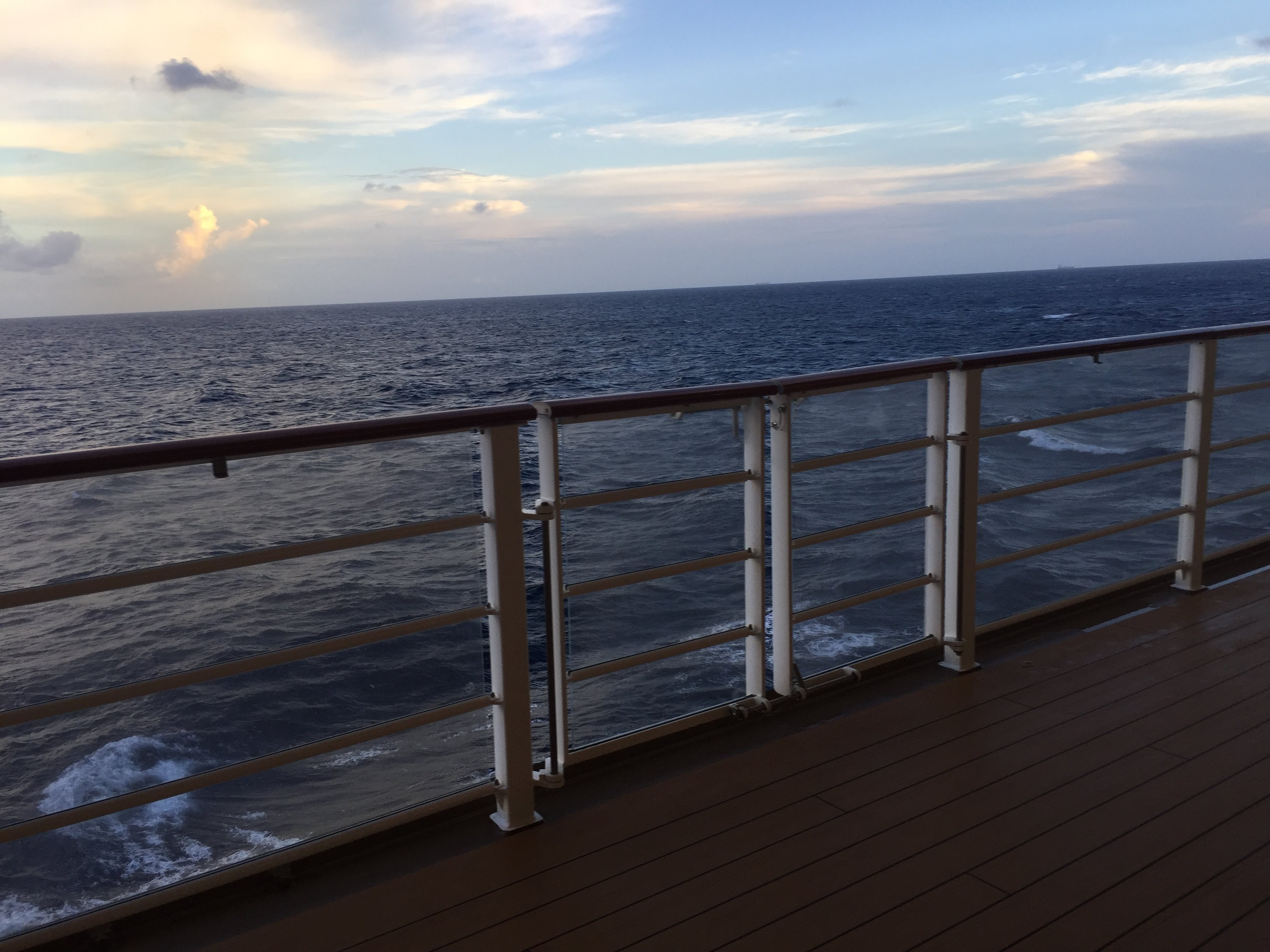 That Time our Cruise Ship was Hurricane Bound