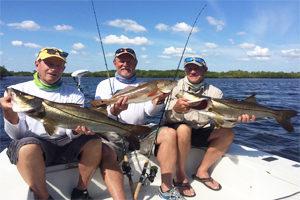 Capt Dave Stephens from Punta Gorda fishing