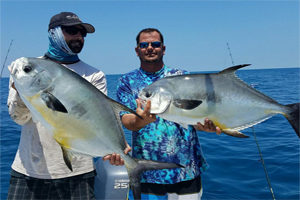 Off shore fishing in the Gulf of Mexico from Lido Beach Florida