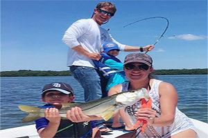 Familt vacation on Longboat Key in Florida