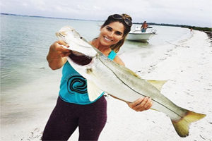 Record snook caught on Siesta Key beach