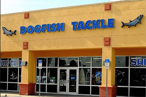 Dogfish marine and tackle store Seminole Fl
