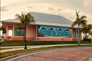 Downtown bait and tackle chum shop in Punta Gorda Florida