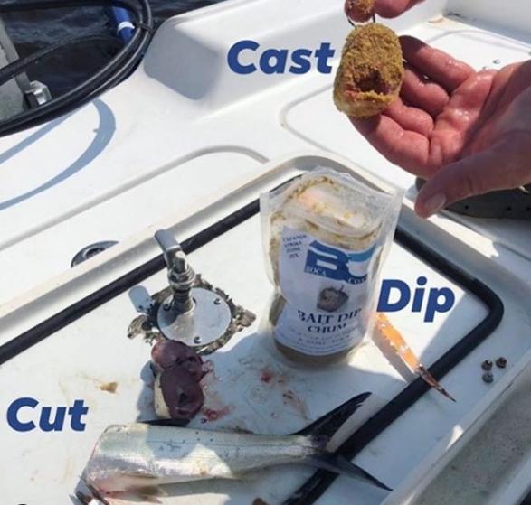 Bait dip chum instructions