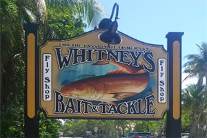 Whitney's tackle in Sanibel fl