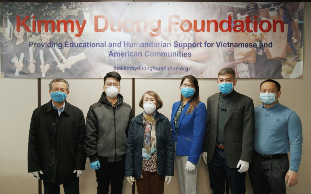 Congero Technology Teams Up with Kimmy Duong Foundation in Charity Efforts Amid COVID-19