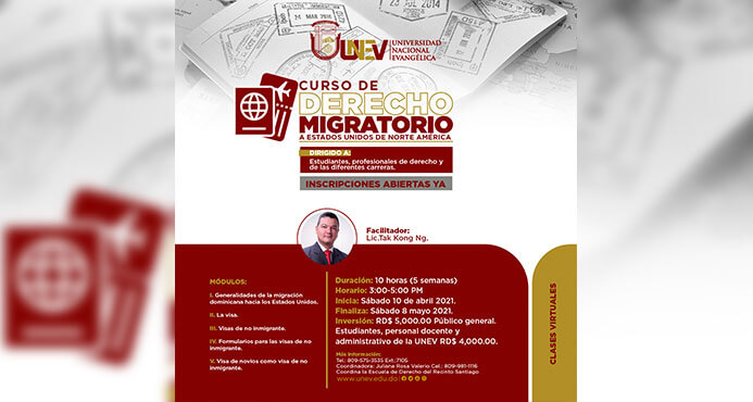 diplomado curso derecho migratorio