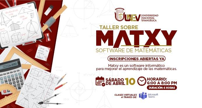 taller matxy evento web unev
