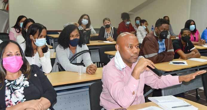 Participantes de la capacitación