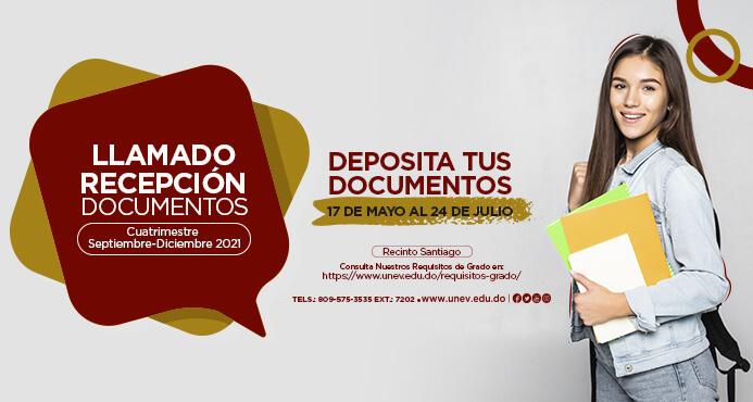 llamado recepcion documentos evento web