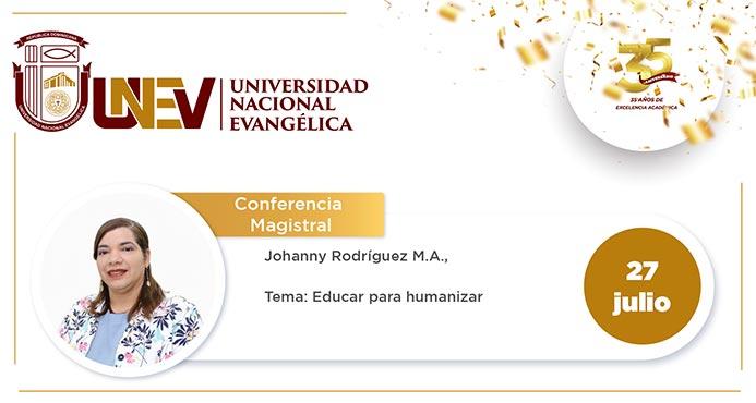 "Decanato de Humanidades auspicia conferencia: ""Educar para Humanizar"""