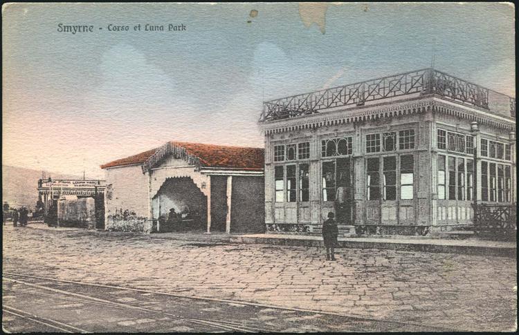 """Καφενείο """"Corso"""" και Λούνα Παρκ"""