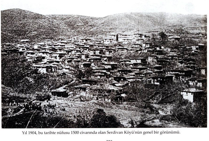 Φωτογραφία Νικομήδειας 1904 όπου φαίνονται οι οικισμοί. Μας την πρόσφερε ο κύριος Στυλιανός Καρακάσης που κατάγεται από εκεί. Τον ευχαριστούμε θερμά...