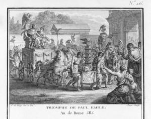 Αιμίλιος Παύλος, νικητήρια επιστροφή στη Ρώμη