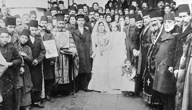 Γάμος Καππαδοκίας 1902 (φωτο Σύλλογος Αχενών Καππαδοκίας)