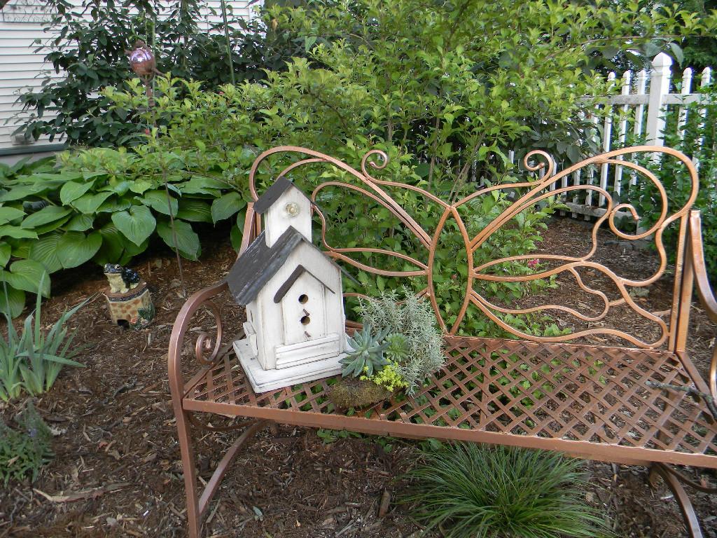 Butterfly Bench Garden Walk Bay City