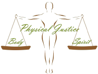 Physical Justice House of Healing Logo