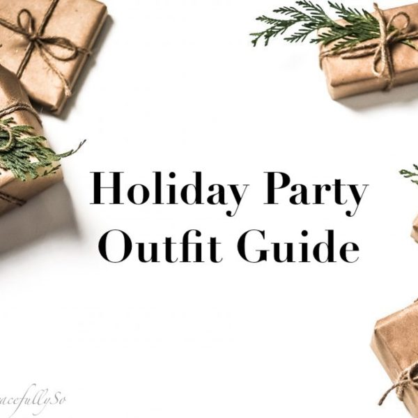 Holiday Party Outfit Guide