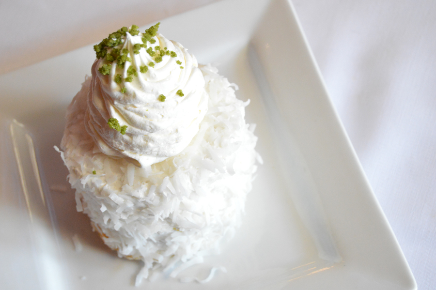 coconut bomb cake