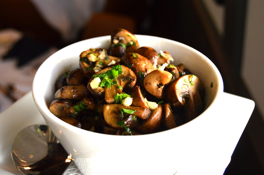 Sauteéd Mushrooms