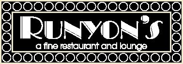 Runyon's Logo