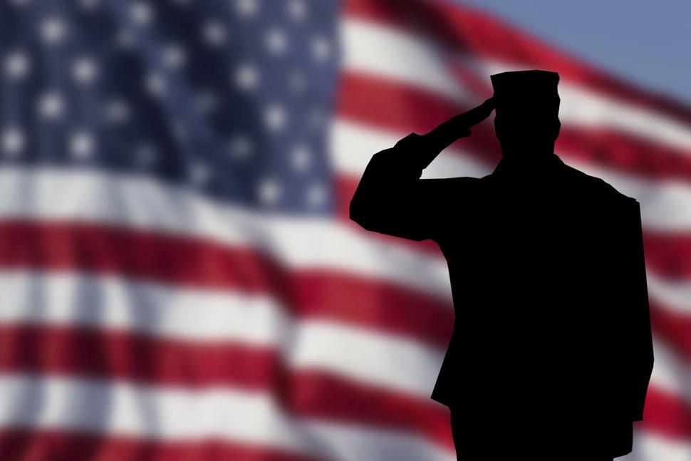 U.S Flag Salute