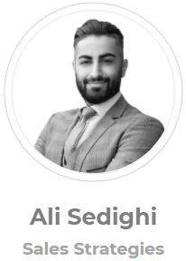 Ali Sedighi, Sales Strategist, Home Equity Loan Connector