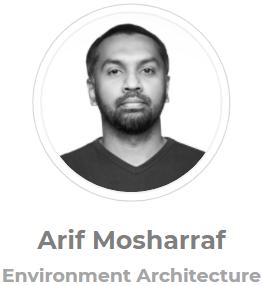Arif Mosharraf, Environment Architecture, Private Lending & Lender Advisor