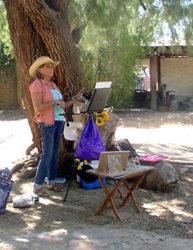 Pamela Wedemeyer, sunflower artist