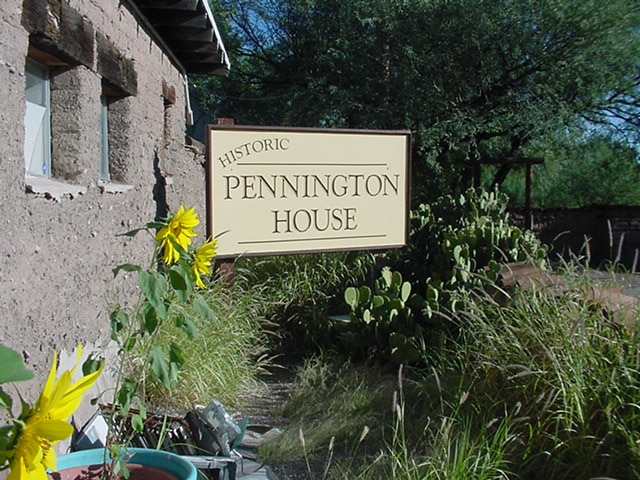 Pennington House, Sunflower Paint Out