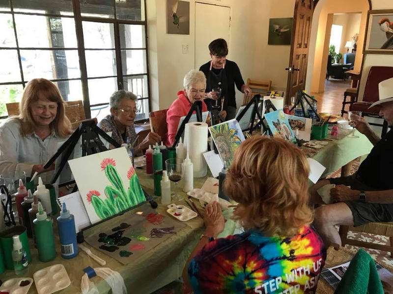 Spirited Painting, Lowe House Project