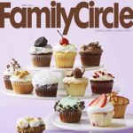 Cover of Family Circle magazine with cupcakes on the cover