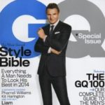 Cover of GQ magazine with Liam Nieson on cover