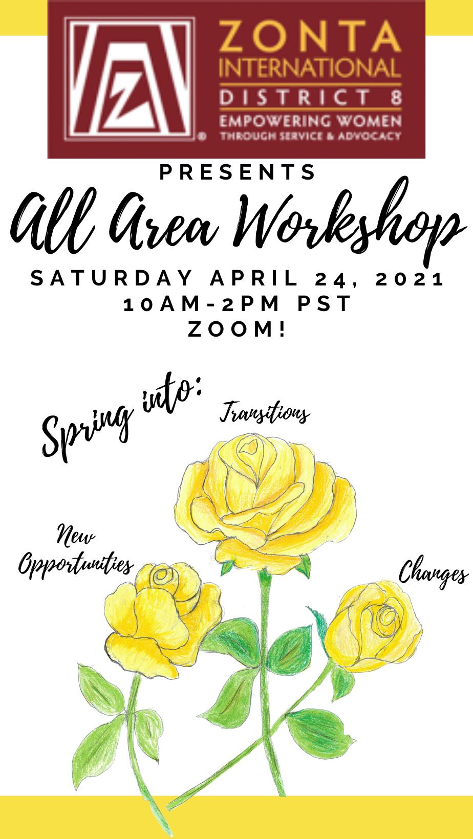 All Area Workshop flier