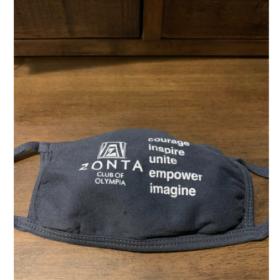 Zonta Olympia Face Mask